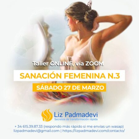 Sanación femenina – nivel 3