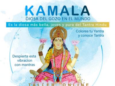 KAMALA diosa del gozo en el mundo